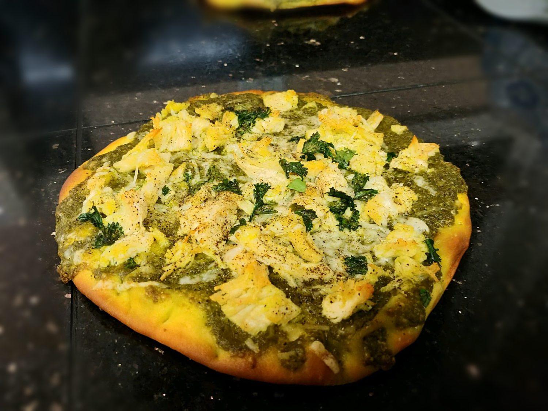 Chicken Pesto Flatbread Recipe_Subject to Copyright