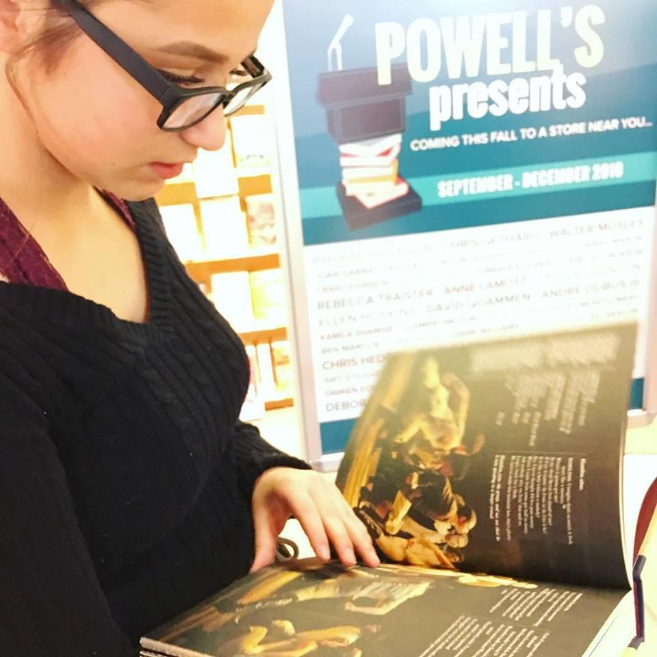 Hamilton~ Powell's books Portland